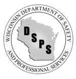 Logo: Wisconsin Department of Safety and Professional Services